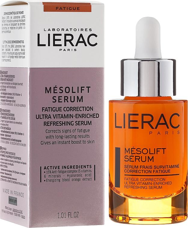 Anti-Fatigue Vitamin Serum - Lierac Mesolift Serum