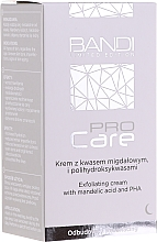 Fragrances, Perfumes, Cosmetics Exfoliating Cream with Mandelic Acid & PHA - Bandi Professional Pro Care Exfoliating Cream With Mandelic Acid And Polyhydroxy Acids
