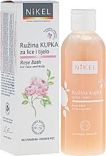 Fragrances, Perfumes, Cosmetics Face and Body Bath Gel - Nikel Rose Bath