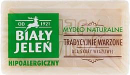 Fragrances, Perfumes, Cosmetics Hypoallergenic Natural Soap - Bialy Jelen Hypoallergenic Natural Soap