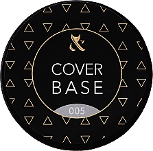 Fragrances, Perfumes, Cosmetics Cover Base Coat (jar) - F.O.X Cover Base