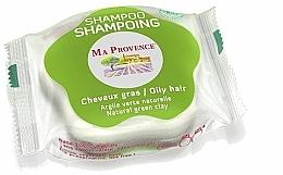 """Fragrances, Perfumes, Cosmetics Solid Oily Hair Bio Shampoo """"Green Clay"""" - Ma Provence Shampoo"""