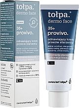 Fragrances, Perfumes, Cosmetics Revitalizing Night Face Cream - Tolpa Provivo 35+ Renewing Night Anti-Age Cream