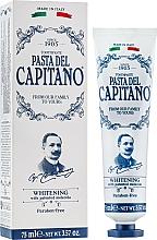 "Fragrances, Perfumes, Cosmetics Toothpaste ""Whitening"" - Pasta Del Capitano Whitening Toothpaste"