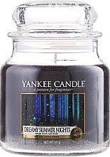 Fragrances, Perfumes, Cosmetics Candle in Glass Jar - Yankee Candle Dreamy Summer Nights