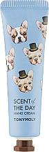 Fragrances, Perfumes, Cosmetics Apple, Bergamot, Nutmeg & Sandalwood Hand Cream - Tony Moly Scent Of The Day Hand Cream So Cozy
