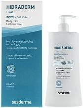 Fragrances, Perfumes, Cosmetics Body Milk - SesDerma Laboratories Hidraderm Body Milk