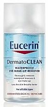 Fragrances, Perfumes, Cosmetics Bi-Phase Eye Makeup Remover - Eucerin DermatoClean Waterproof Eye Make-Up Remover