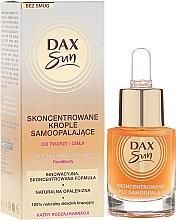 Fragrances, Perfumes, Cosmetics Self-Tanning Concentrated Drops - Dax Sun Self-tanning Concentrated Drops