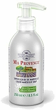 "Fragrances, Perfumes, Cosmetics Liquid Marseille Soap ""Almond"" - Ma Provence Liquid Marseille Soap Almond"