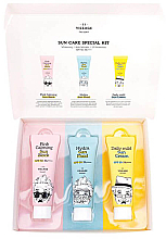 Fragrances, Perfumes, Cosmetics Set - Village 11 Factory Sun Care Special Kit (fluid/25ml + block/25ml + cream/25ml)