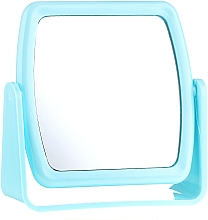 Fragrances, Perfumes, Cosmetics Stand Mirror 85727, square, light blue - Top Choice Beauty Collection Mirror