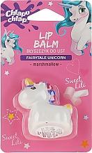 "Fragrances, Perfumes, Cosmetics Gloss Lip Balm ""Unicorn"", white - Chlapu Chlap Lip Balm"