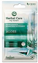 "Fragrances, Perfumes, Cosmetics Mask for All Skin Types ""Aloe"" - Farmona Herbal Care"