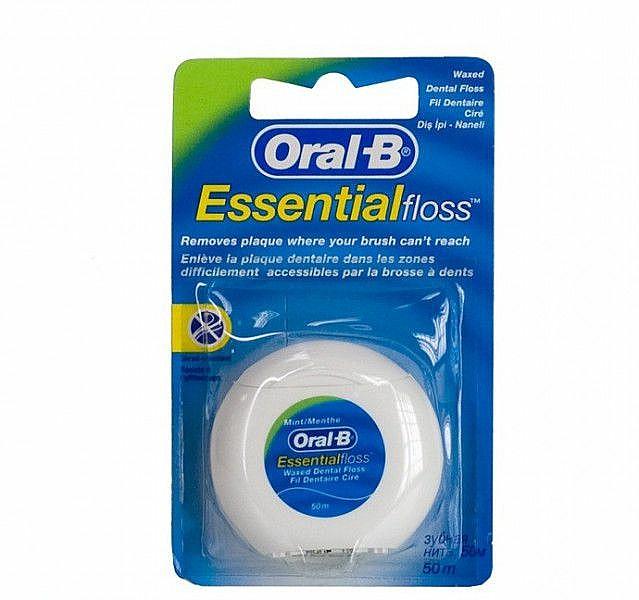 "Dental Floss ""Mint"" - Oral-B Essential Floss"