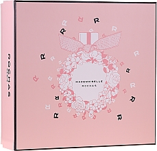 Fragrances, Perfumes, Cosmetics Rochas Mademoiselle Rochas - Set (edp/50ml + b/lot/50ml + sh/gel/50ml)