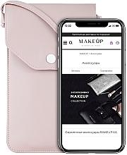 "Fragrances, Perfumes, Cosmetics Crossbody Phone Case ""Cross"", powder - Makeup Phone Case Crossbody Powder"