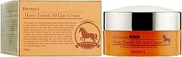 Fragrances, Perfumes, Cosmetics Nourishing Horse Oil Face Cream - Deoproce Horse Enrich All Care Cream