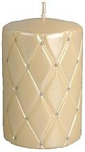 Fragrances, Perfumes, Cosmetics Decorative Candle, 10 cm, creamy - Artman Florence Candle