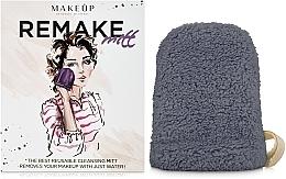 "Fragrances, Perfumes, Cosmetics Makeup Remover Glove, gray ""ReMake"" - MakeUp"