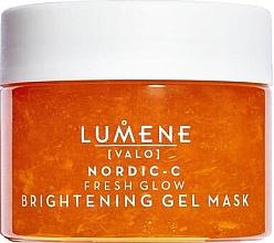 Fragrances, Perfumes, Cosmetics Brightening Facial Gel Mask - Lumene Valo Nordic-C Fresh Glow Brightening Gel Mask