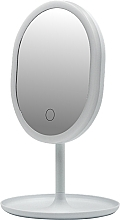 Fragrances, Perfumes, Cosmetics LED Mirror 498579, white - Inter-Vion LED With Mini USB