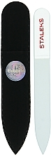 Fragrances, Perfumes, Cosmetics Crystal Nail File, F4-12-90, transparent - Staleks (9cm)