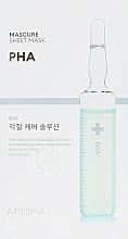 Fragrances, Perfumes, Cosmetics Facial Peeling Mask - Missha Peeling Solution Sheet Mask
