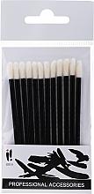 Fragrances, Perfumes, Cosmetics Lip Applicators, 12 pcs, black - Ibra