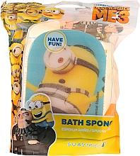 "Fragrances, Perfumes, Cosmetics Kids Bath Sponge ""Minions"", blue, prisoner Karl - Suavipiel Minnioins Bath Sponge"