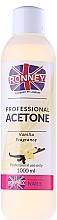 "Fragrances, Perfumes, Cosmetics Nail Polish Remover ""Vanilla"" - Ronney Professional Acetone Vanilia"