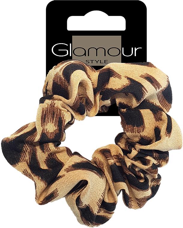 Elastic Hair Band, 417670, brown - Glamour — photo N1