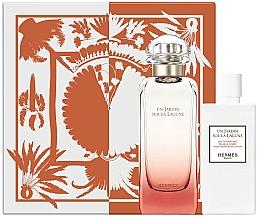 Fragrances, Perfumes, Cosmetics Hermes Un Jardin Sur La Lagune - Set (edt/100ml + b/lot/80ml)