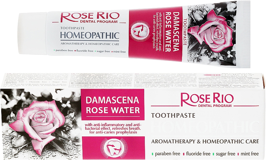 Homeopathic Toothpaste - Rose Rio Toothpast