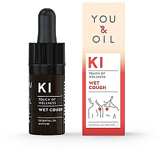 Fragrances, Perfumes, Cosmetics Essential Oil Blend - You & Oil KI-Wet Cough Touch Of Welness Essential Oil