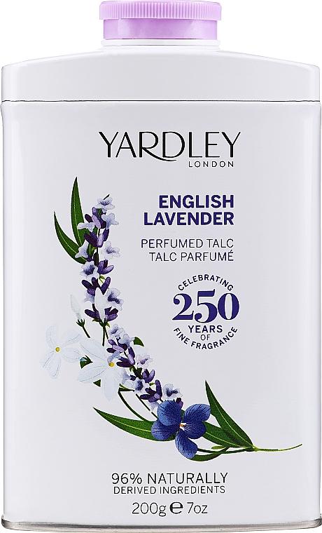 Body Talc - Yardley English Lavender Perfumed Talc