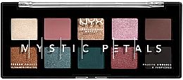 Fragrances, Perfumes, Cosmetics Eye & Face Pigment and Eyeshadow Palette - NYX Professional Makeup Mystic Petals Shadow Palette