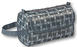 "Fragrances, Perfumes, Cosmetics Men Toiletry Bag ""Blinky"", 95238, gray - Top Choice"