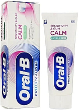 Fragrances, Perfumes, Cosmetics Toothpaste - Oral-B Professional Sensitivity & Gum Calm Extra Fresh