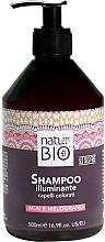 Fragrances, Perfumes, Cosmetics Hair Shampoo - Renee Blanche Natur Green Bio Illuminante Shampoo