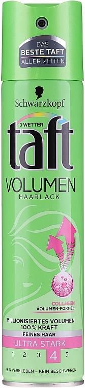 "Hair Spray ""Volume Power"" - Schwarzkopf Taft Volume Hairspray"