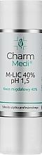 Fragrances, Perfumes, Cosmetics Mandelic Acid 40% - Charmine Rose Charm Medi M-Lic 40% pH 1.8