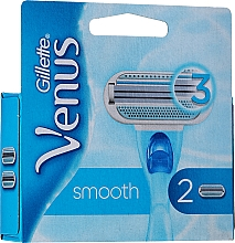 Fragrances, Perfumes, Cosmetics Shaving Razor Refills, 2 pcs. - Gillette Venus
