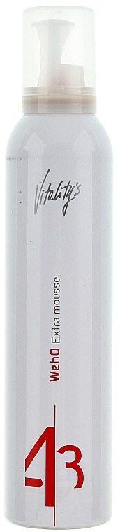 Extra Strong Hold Mousse - Vitality's We-Ho Extra Mousse
