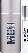 Fragrances, Perfumes, Cosmetics Carolina Herrera 212 For Men - Set (edt/100ml + edt/10ml)