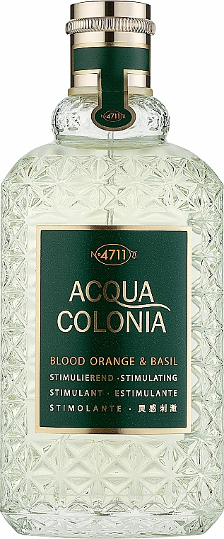 Maurer & Wirtz 4711 Acqua Colonia Blood Orange & Basil - Eau de Cologne