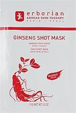 "Fragrances, Perfumes, Cosmetics Restoring Sheet Face Mask ""Ginseng"" - Erborian Ginseng Shot Mask"