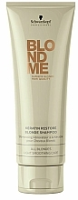 "Fragrances, Perfumes, Cosmetics Shampoo ""Keratin Repair"" - Schwarzkopf Professional BlondMe Keratin Restore Blonde Shampoo"