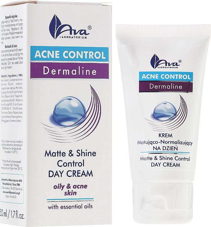 Matte Day Cream Gel - Ava Laboratorium Acne Control Matt & Shine Day Cream