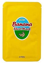 Fragrances, Perfumes, Cosmetics Nourishing Banana Extract and Honey Mask - A'Pieu Sweet Banana Sheet Mask